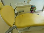 歯科医の診察台穴補修