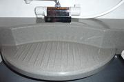 浴室洗面台のガラスコーテイング